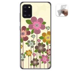 Funda Gel Tpu para Samsung Galaxy A31 diseño Primavera En Flor Dibujos