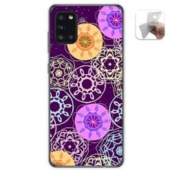 Funda Gel Tpu para Samsung Galaxy A31 diseño Radial Dibujos
