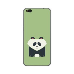 Funda Gel Tpu para Xiaomi Mi 5C Diseño Panda Dibujos