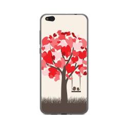 Funda Gel Tpu para Xiaomi Mi 5C Diseño Pajaritos Dibujos