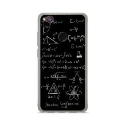 Funda Gel Tpu para Zte Nubia Z11 Mini Diseño Formulas Dibujos