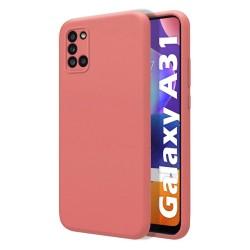 Funda Silicona Líquida Ultra Suave para Samsung Galaxy A31 color Rosa