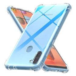 Funda Gel Tpu Anti-Shock Transparente para Samsung Galaxy A11