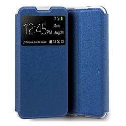 Funda Libro Soporte con Ventana para Xiaomi Redmi 9A / 9AT color Azul