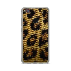 Funda Gel Tpu para Zte Nubia Z11 Mini Diseño Leopardo Dibujos