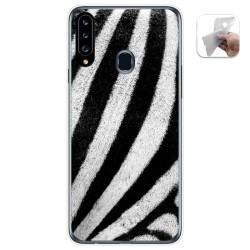 Funda Gel Tpu para Samsung Galaxy A20s diseño Animal 02 Dibujos