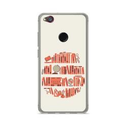 Funda Gel Tpu para Zte Nubia Z11 Mini Diseño Mundo Libro Dibujos