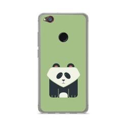 Funda Gel Tpu para Zte Nubia Z11 Mini Diseño Panda Dibujos