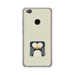 Funda Gel Tpu para Zte Nubia Z11 Mini Diseño Pingüino Dibujos