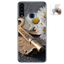 Funda Gel Tpu para Samsung Galaxy A20s diseño Dream Dibujos