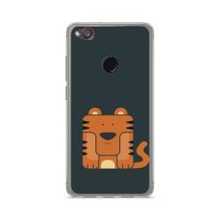 Funda Gel Tpu para Zte Nubia Z11 Mini Diseño Tigre Dibujos