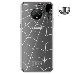 Funda Gel Transparente para Doogee X95 diseño Araña Dibujos