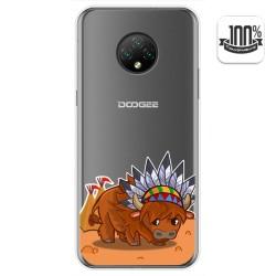 Funda Gel Transparente para Doogee X95 diseño Bufalo Dibujos