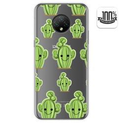 Funda Gel Transparente para Doogee X95 diseño Cactus Dibujos