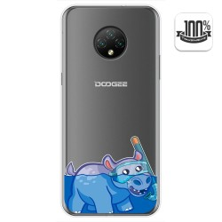 Funda Gel Transparente para Doogee X95 diseño Hipo Dibujos