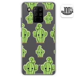 Funda Gel Transparente para Oukitel C18 Pro diseño Cactus Dibujos