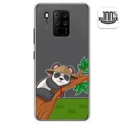 Funda Gel Transparente para Oukitel C18 Pro diseño Panda Dibujos