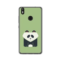Funda Gel Tpu para Bq Aquaris X / X Pro Diseño Panda Dibujos