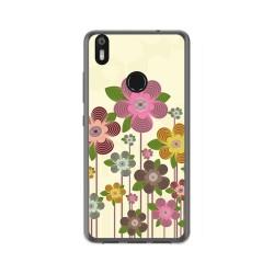 Funda Gel Tpu para Bq Aquaris X / X Pro Diseño Primavera En Flor Dibujos