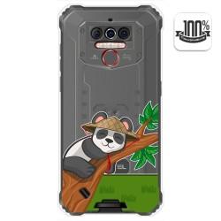 Funda Gel Transparente para Oukitel Wp5 diseño Panda Dibujos