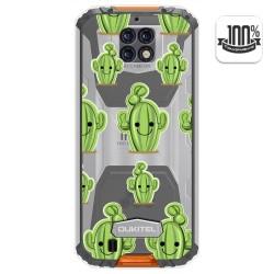 Funda Gel Transparente para Oukitel Wp6 diseño Cactus Dibujos