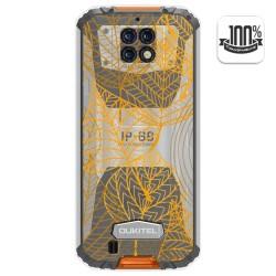 Funda Gel Transparente para Oukitel Wp6 diseño Hojas Dibujos