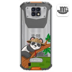 Funda Gel Transparente para Oukitel Wp6 diseño Panda Dibujos