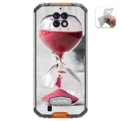 Funda Gel Tpu para Oukitel Wp6 diseño Reloj Dibujos