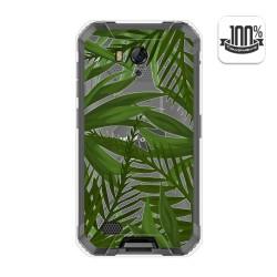 Funda Gel Transparente para Ulefone Armor X6 diseño Jungla Dibujos
