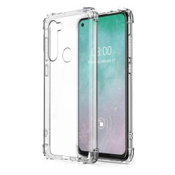 Funda Gel Tpu Anti-Shock Transparente para Motorola Moto G8 Power