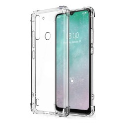 Funda Gel Tpu Anti-Shock Transparente para Motorola Moto G8 Power Lite