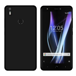 Funda Gel Tpu para Bq Aquaris X / X Pro Color Negra