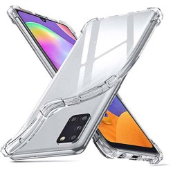 Funda Gel Tpu Anti-Shock Transparente para Samsung Galaxy A31