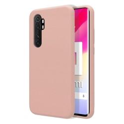 Funda Silicona Líquida Ultra Suave para Xiaomi Mi Note 10 Lite color Rosa