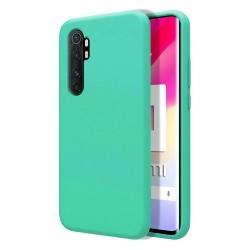 Funda Silicona Líquida Ultra Suave para Xiaomi Mi Note 10 Lite color Verde