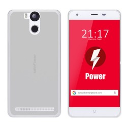 Funda Gel Tpu para Ulefone Power Color Transparente