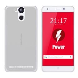 Funda Gel Tpu para Ulefone Power Color Transparente