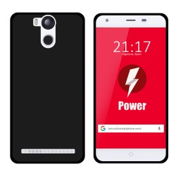 Funda Gel Tpu para Ulefone Power Color Negra