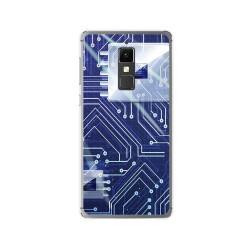 Funda Gel Tpu para Elephone S3 Diseño Circuito Dibujos