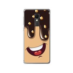 Funda Gel Tpu para Elephone S3 Diseño Helado Chocolate Dibujos
