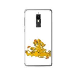 Funda Gel Tpu para Elephone S3 Diseño Leones Dibujos