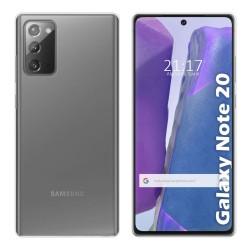 Funda Silicona Gel TPU Transparente para Samsung Galaxy Note 20