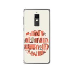 Funda Gel Tpu para Elephone S3 Diseño Mundo Libro Dibujos