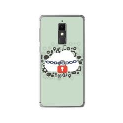 Funda Gel Tpu para Elephone S3 Diseño Nube Dibujos