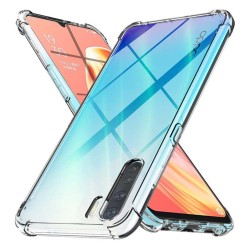 Funda Gel Tpu Anti-Shock Transparente para Oppo A91