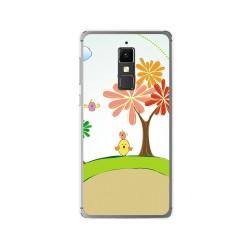Funda Gel Tpu para Elephone S3 Diseño Primavera Dibujos