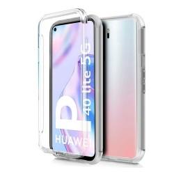 Funda Completa Transparente Pc + Tpu Full Body 360 para Huawei P40 Lite 5G