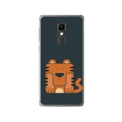 Funda Gel Tpu para Elephone S3 Diseño Tigre Dibujos