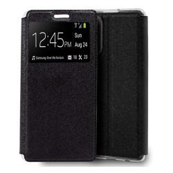 Funda Libro Soporte con Ventana para Samsung Galaxy Note 20 Ultra color Negra