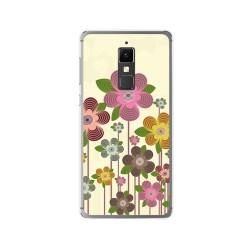 Funda Gel Tpu para Elephone S3 Diseño Primavera En Flor  Dibujos
